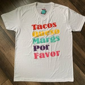 Tacos queso margs tshirt